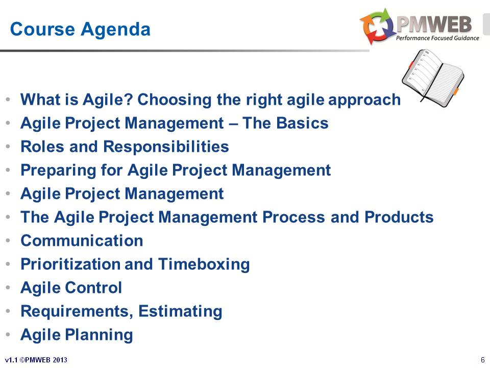 PMWEB - Agile PM Course v1.1 - Slide 6